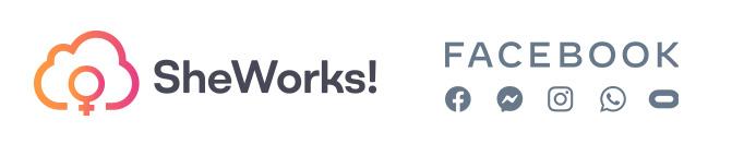 SheWorks! In Tech es la iniciativa de SheWorks! y Facebook que entrena, certifica y conecta a mujeres con oportunidades de trabajo alrededor del mundo.